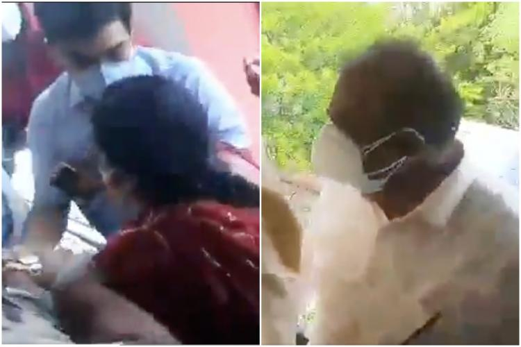IAS officer Yashwanta manhandled by reportedly aides of MLA Satish Reddy