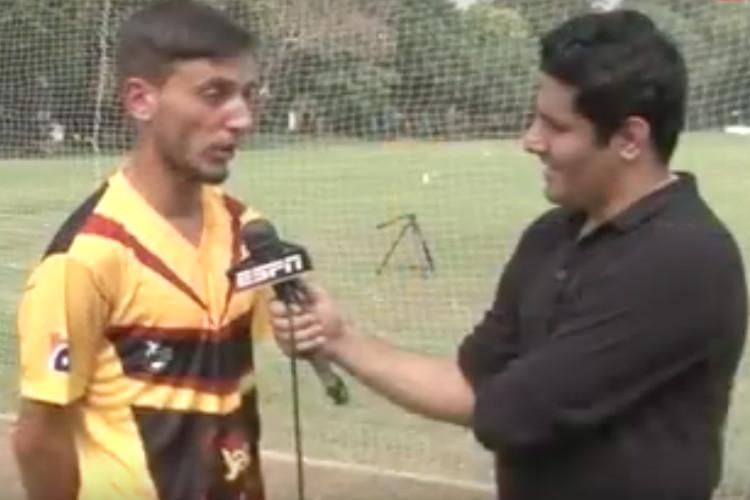 Future of cricket is here Pakistani pace bowler who can bowl with both arms
