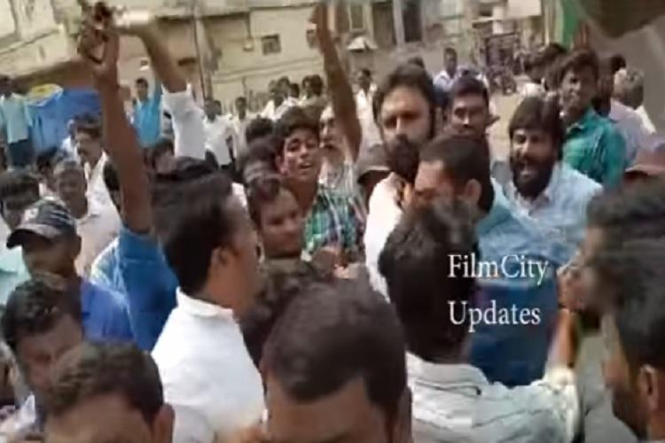 TDP and YSRCP workers clash in Andhra after former takes out victory rally at Gudivada