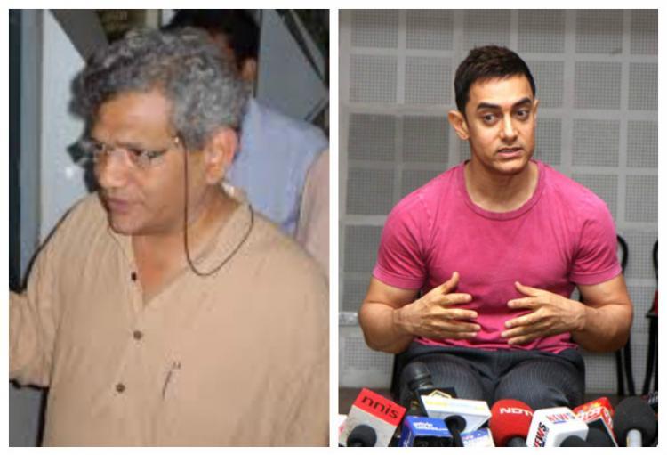 Dont threaten Aamir for speaking the truth says Sitaram Yechury