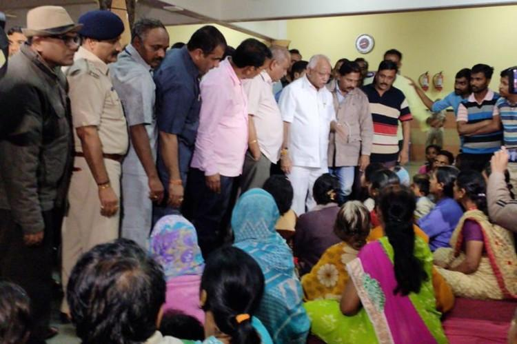 Karnataka CM BS Yediyurappa in Belagavi to monitor flood relief measures