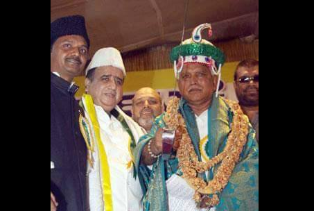 Yeddyurappas photo at Tipu Samadhi is circulating on social media