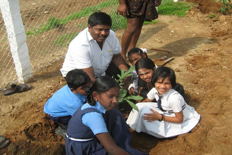 A Coimbatore bus conductor has planted 3 lakh trees using