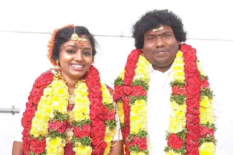 Yogi Babu gets married to Manju Bargavi reception to be held in March