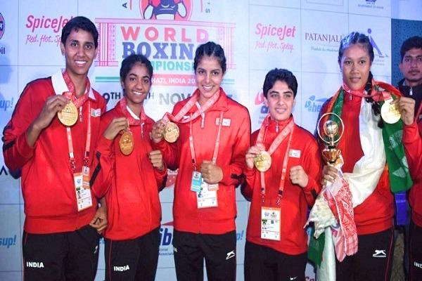 India be proud Women boxers win 5 golds at World Youth Cships