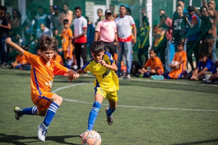 Bangalore City FC Bengaluru FC emerge as winners in youth football league