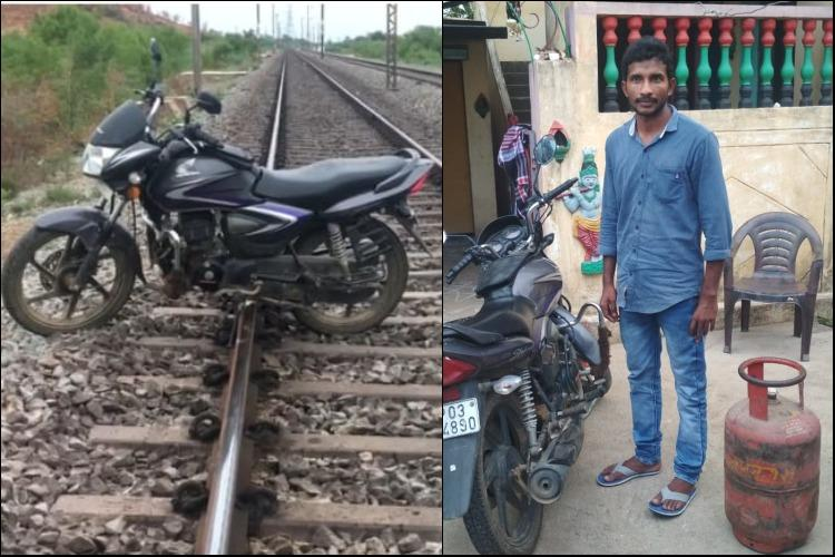 Andhra man who placed gas cylinder crackers on train track for YouTube videos arrested