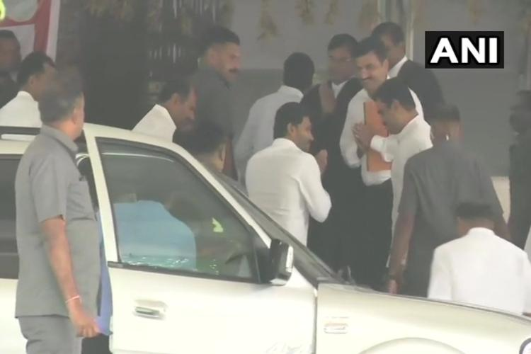 Disproportionate assets case Andhra CM Jagan appears before CBI court in Hyderabad