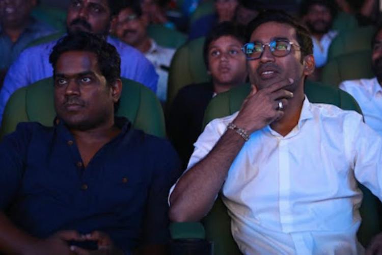 Yuvan Shankar Raja Dhanush reunite after a decade for Maari 2