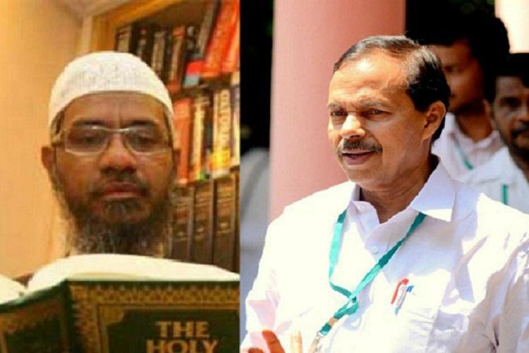 Kerala Congress slams IUML for backing Islamic preacher Zakir Naik