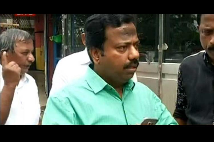 On the run for 3 weeks Kerala CPI M leader booked in kidnapping case surrenders