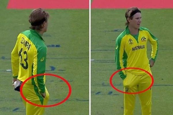 Did Australian spinner Adam Zampa indulge in ball-tampering vs India