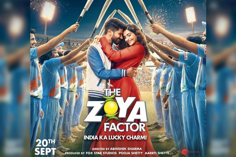 Watch Dulquer is all charm in Sonam Kapoors The Zoya Factor trailer