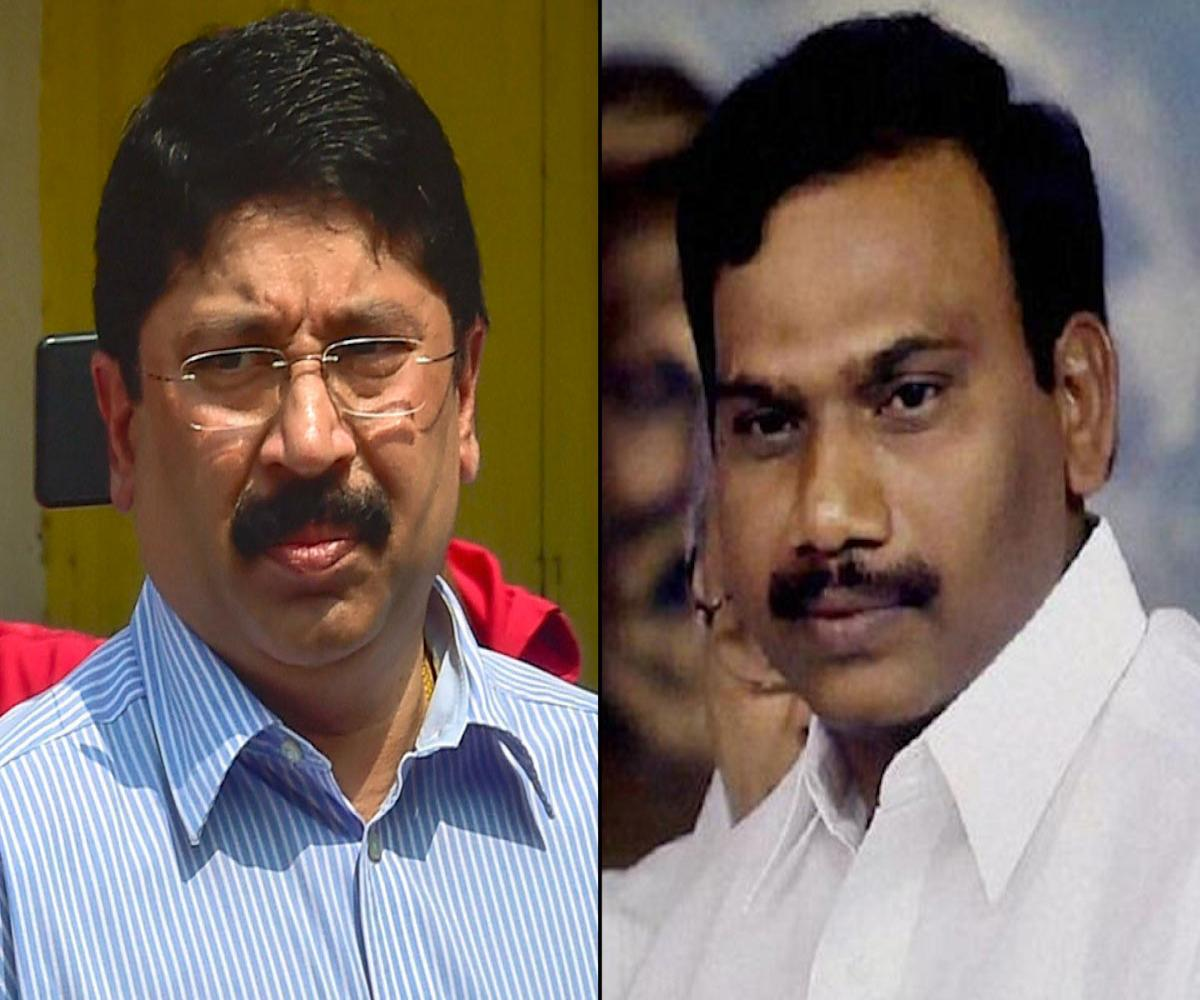 DMK leaders A Raja, Dayanidhi Maran booked for remarks during campaign