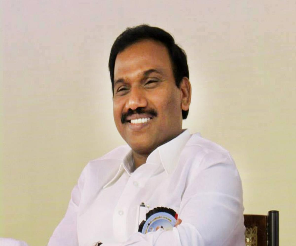 ECI bans DMK's A Raja from campaigning for 48 hours for comment against EPS