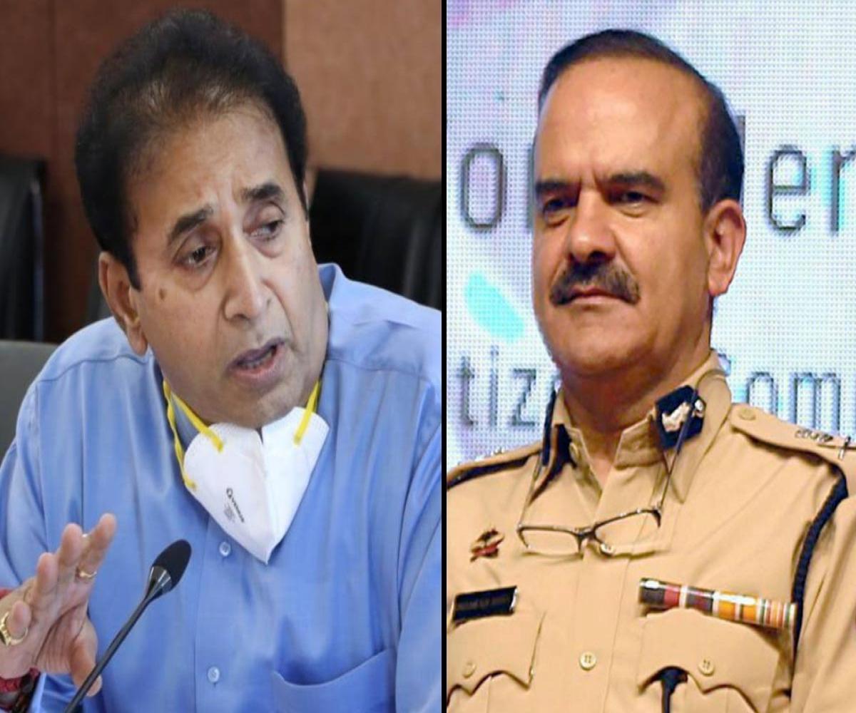 Ex-Mumbai top cop Param Bir Singh writes to CM, accuses Anil Deshmukh of corruption