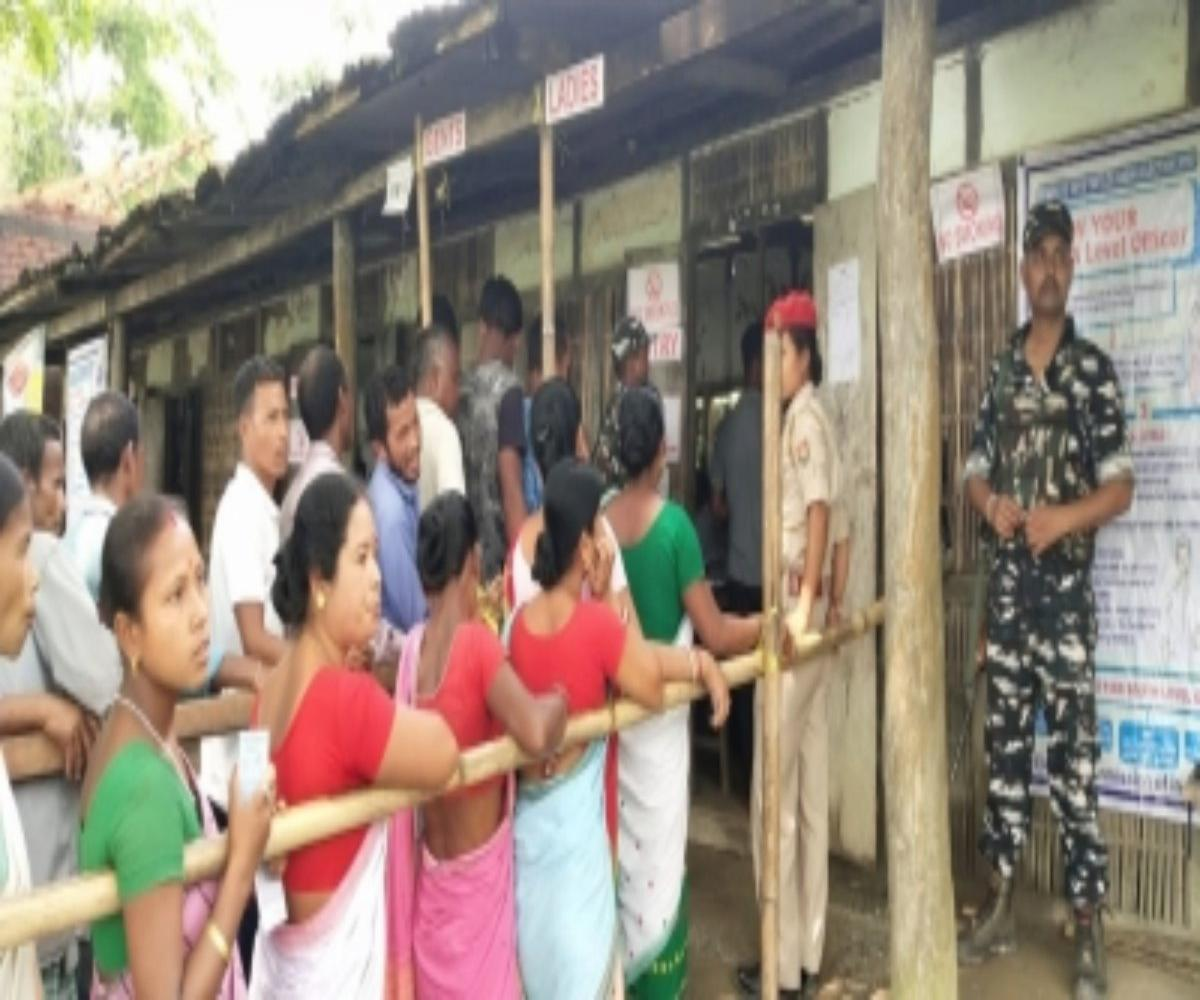 Assam records over 82% polling in final phase of voting