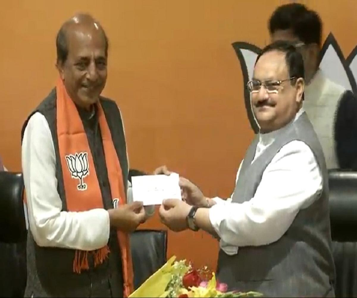 Former senior TMC MP Dinesh Trivedi joins BJP in West Bengal