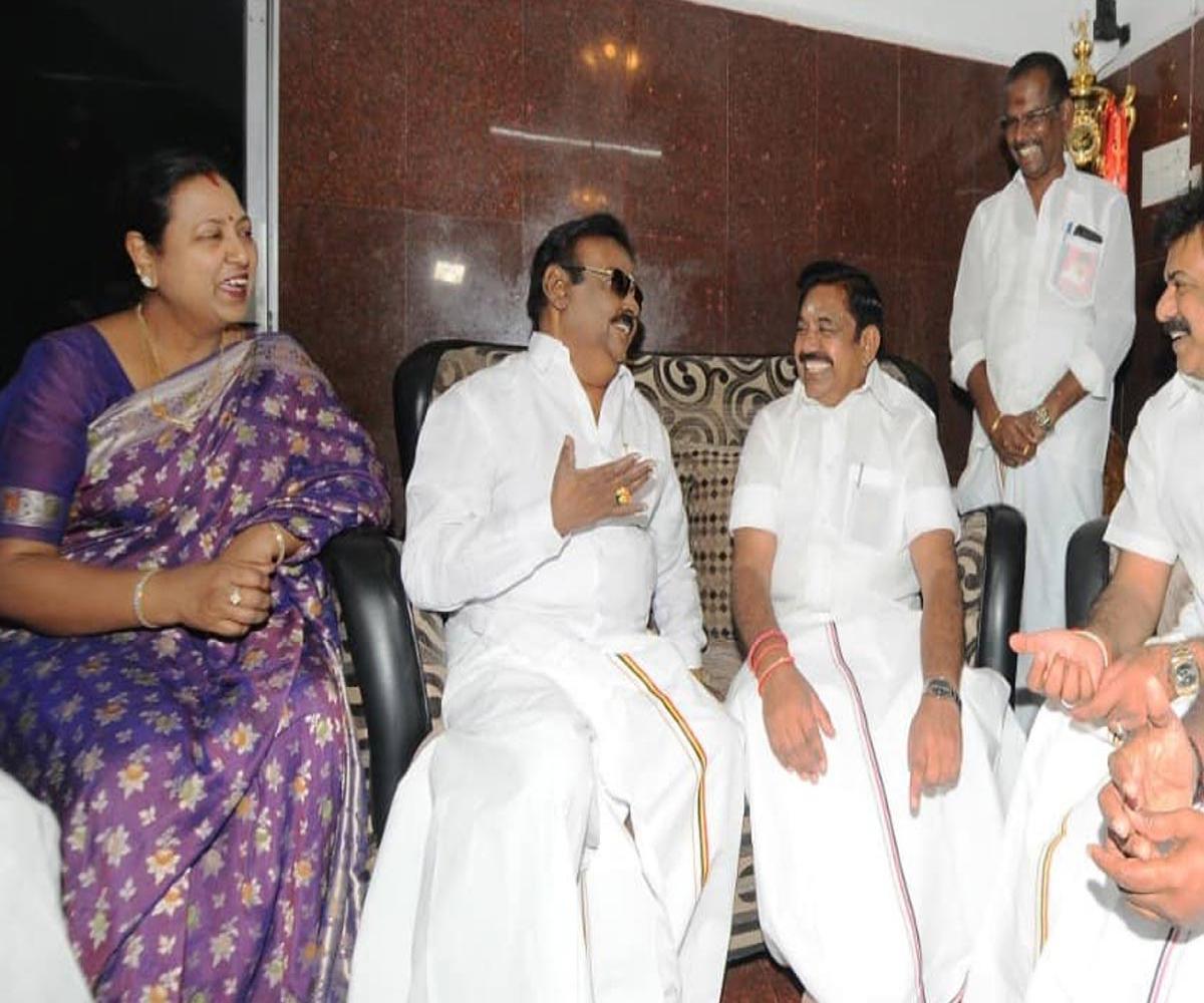 TN assembly polls: AIADMK set to offer DMDK a maximum of 15 seats