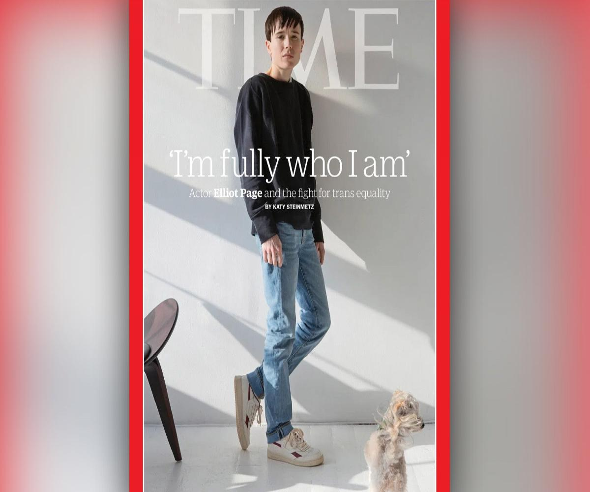 'I'm fully who I am': Elliot Page becomes first trans man to make Time Magazine cover