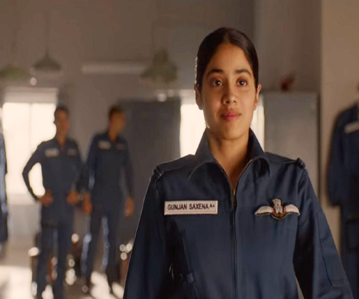 Gunjan Saxena Review Janhvi Kapoor Film Shows How Men Can Be Bullies Or Allies The News Minute