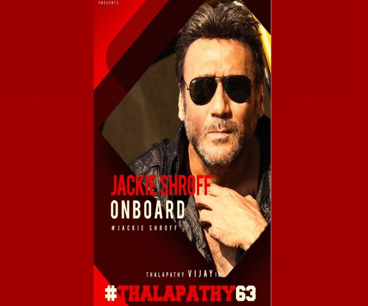 Bollywood actor Jackie Shroff joins cast of Atlee-Vijay's