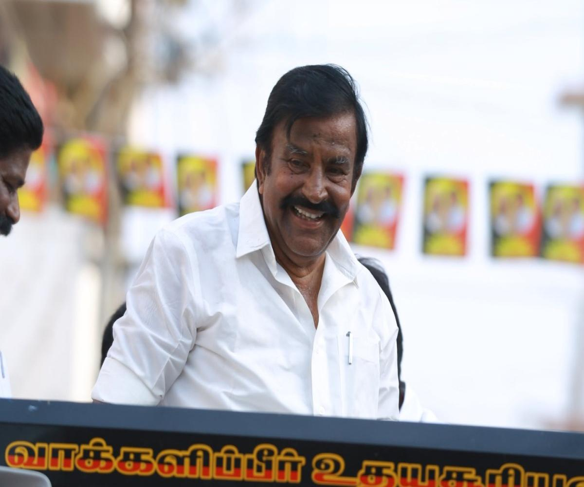 DMK complains to CEO of 'malicious campaign' against KN Nehru by AIADMK