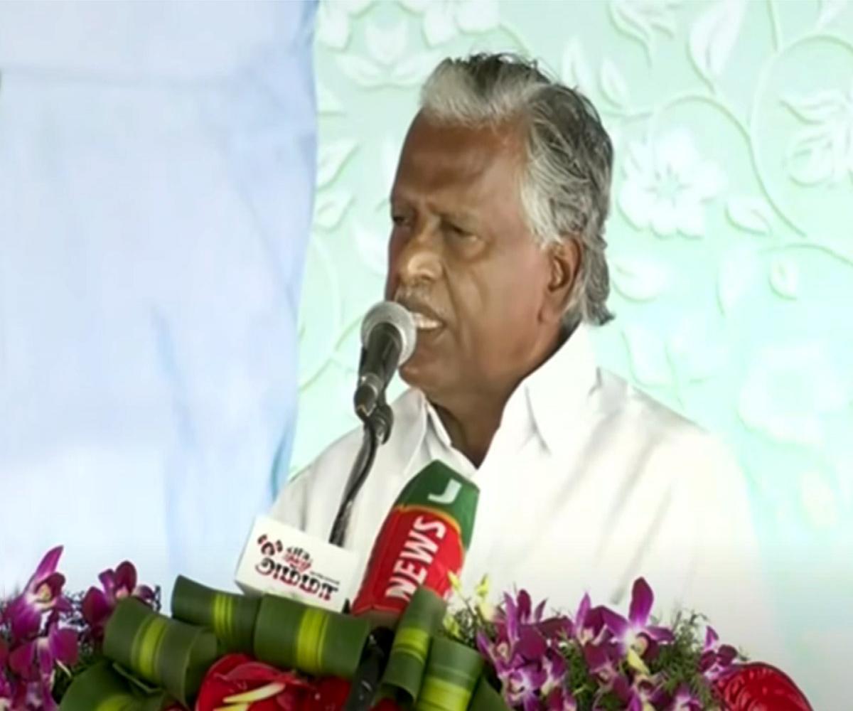 Rajya Sabha MPs Munusamy and Vaithilingam to contest TN Assembly polls