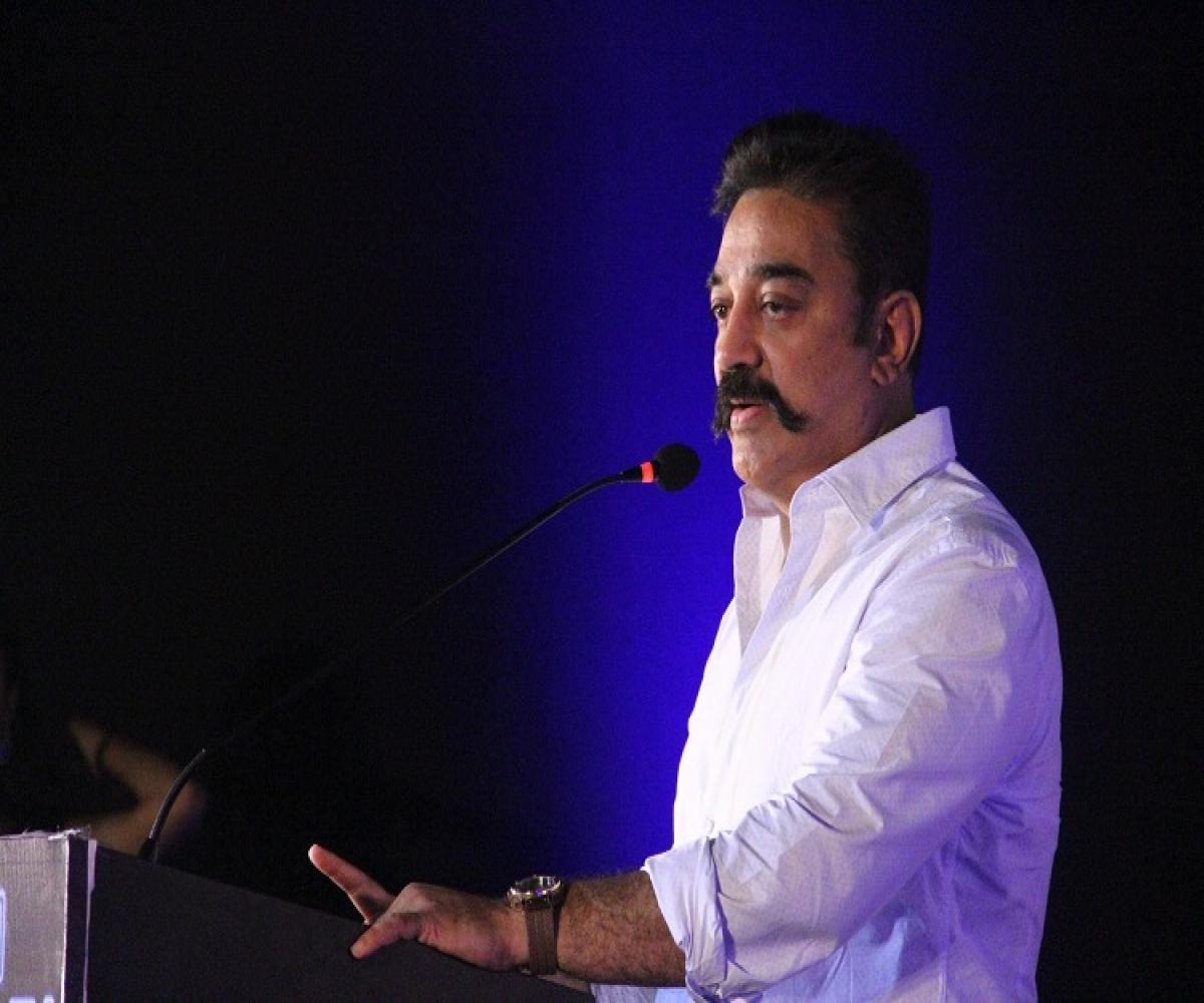Kamal Hassan slams Amit Shah