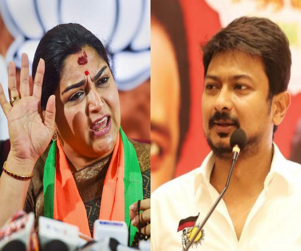 Khushboo likely to be fielded from Chepauk in Chennai, to face DMK's Udhayanidhi Stalin