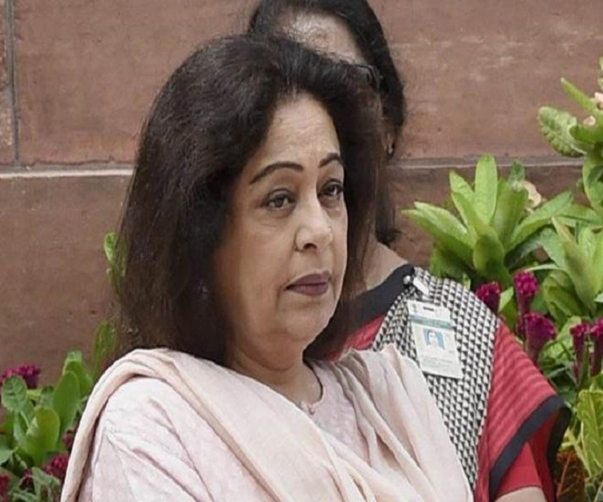 Kirron Kher diagnosed with type of blood cancer, shares husband Anupam Kher