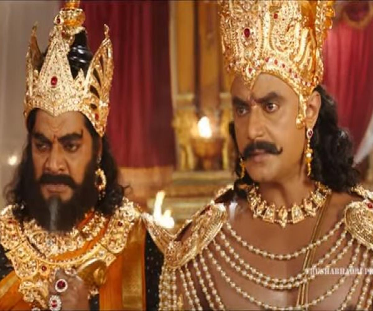 Kurukshetra Review Darshan Makes A Convincing Duryodhana In A Lacklustre Epic The News Minute