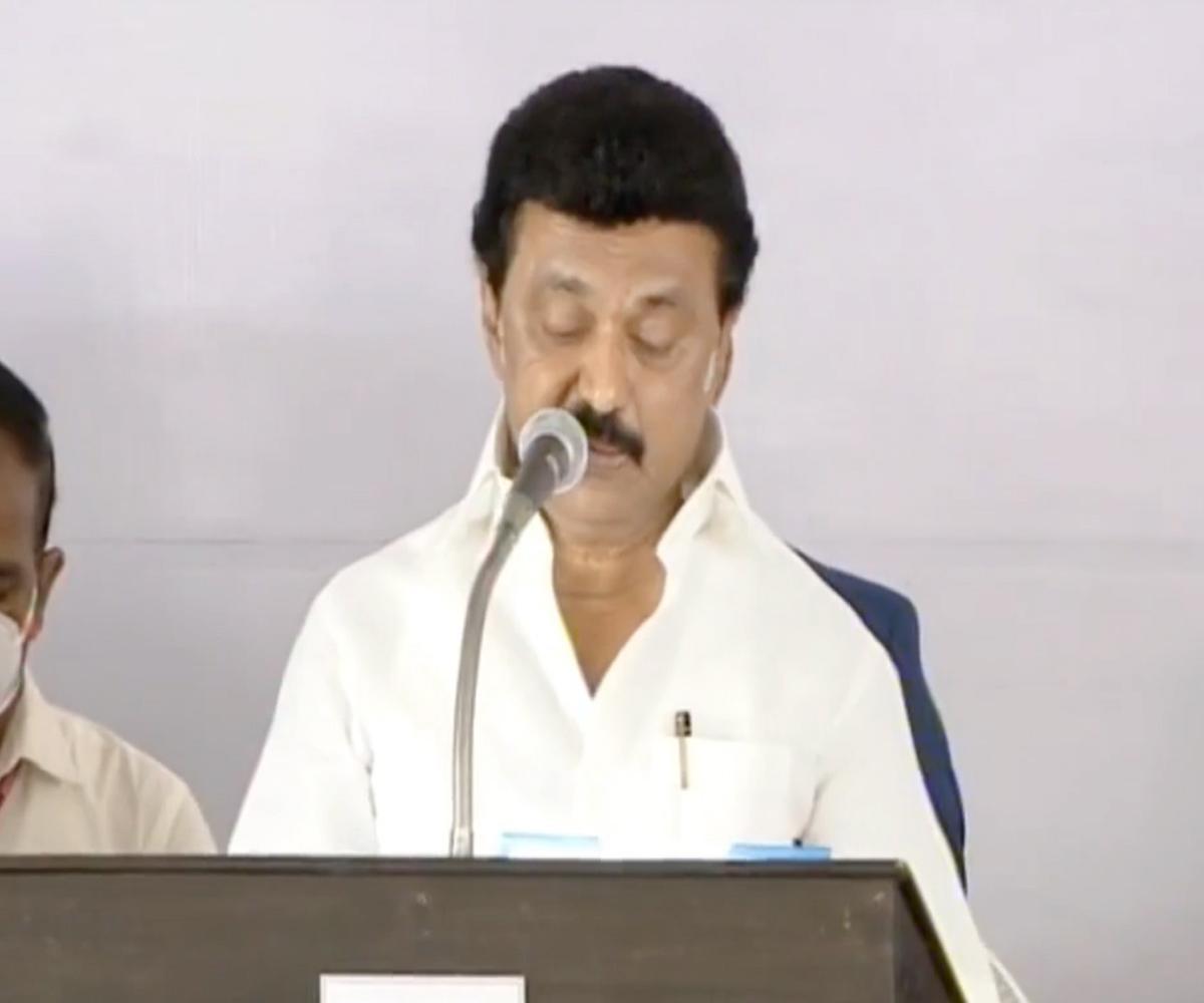 'I, Muthuvel Karunanidhi Stalin'... MK Stalin sworn in as Tamil Nadu Chief Minister