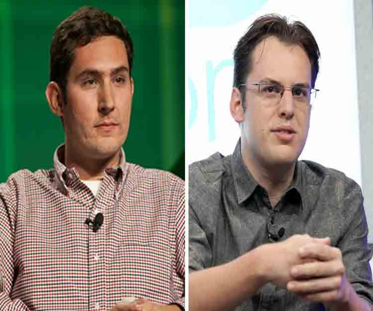 Instagram founders Mike Krieger and Kevin Systrom quit