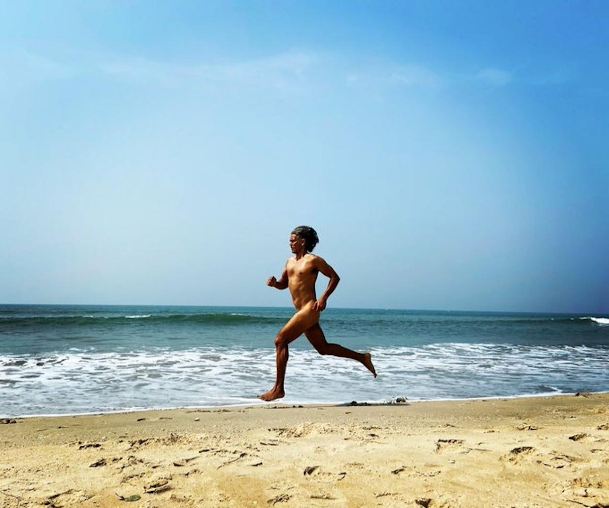 Milind Soman runs nude on Goa beach to mark 55th birthday, picture is viral  | The News Minute