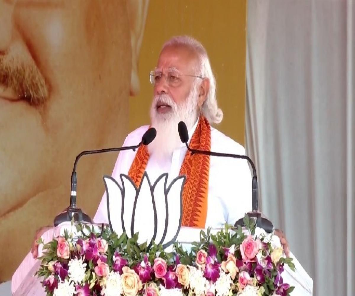 PM Modi slams Congress for its 'divide, lie and rule' policy in Puducherry