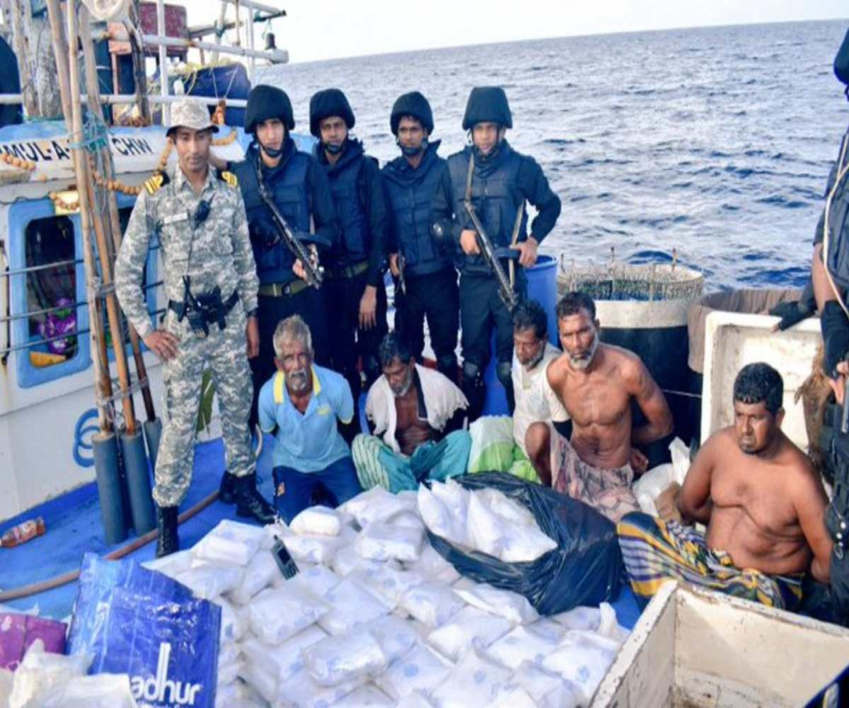Drugs worth Rs 3000 crore seized by Indian Navy from fishing boat in Arabian Sea