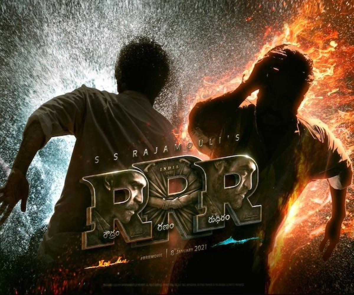 Title of Rajamouli's 'RRR' announced | The News Minute