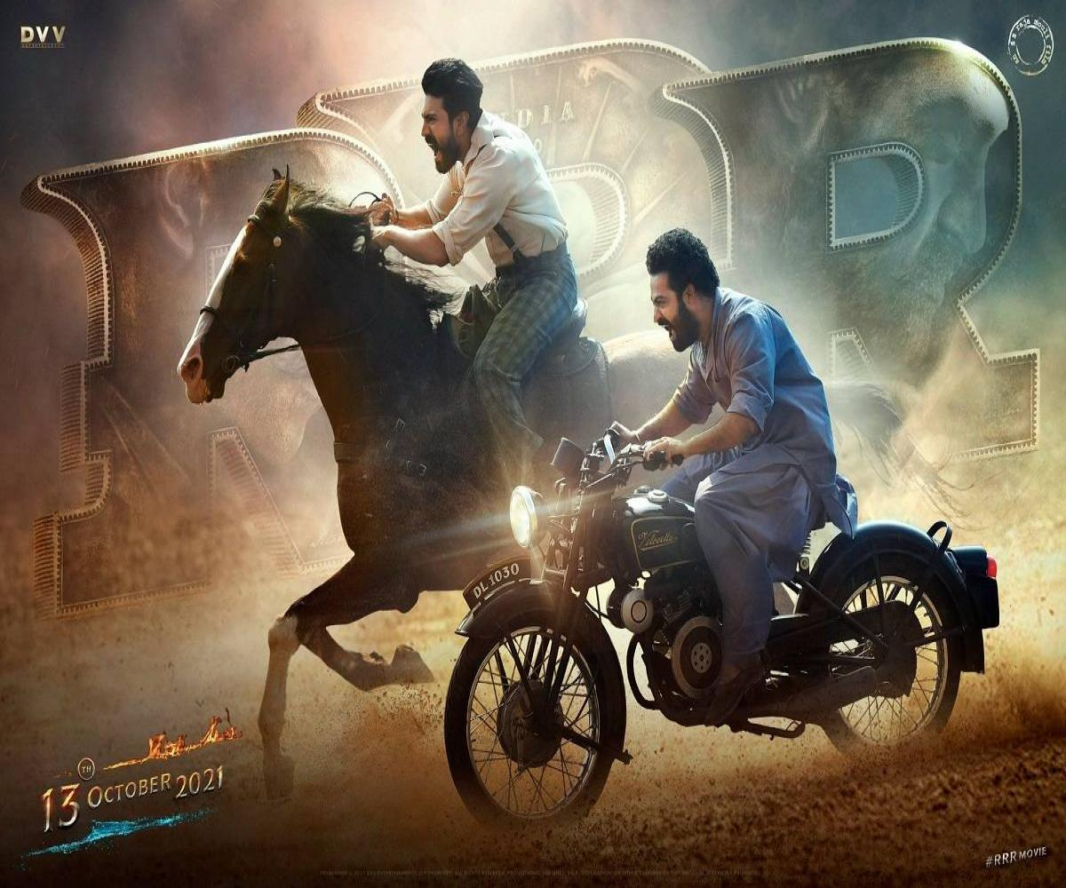 Ram Charan-Jr NTR starrer 'RRR' release date out | The News Minute