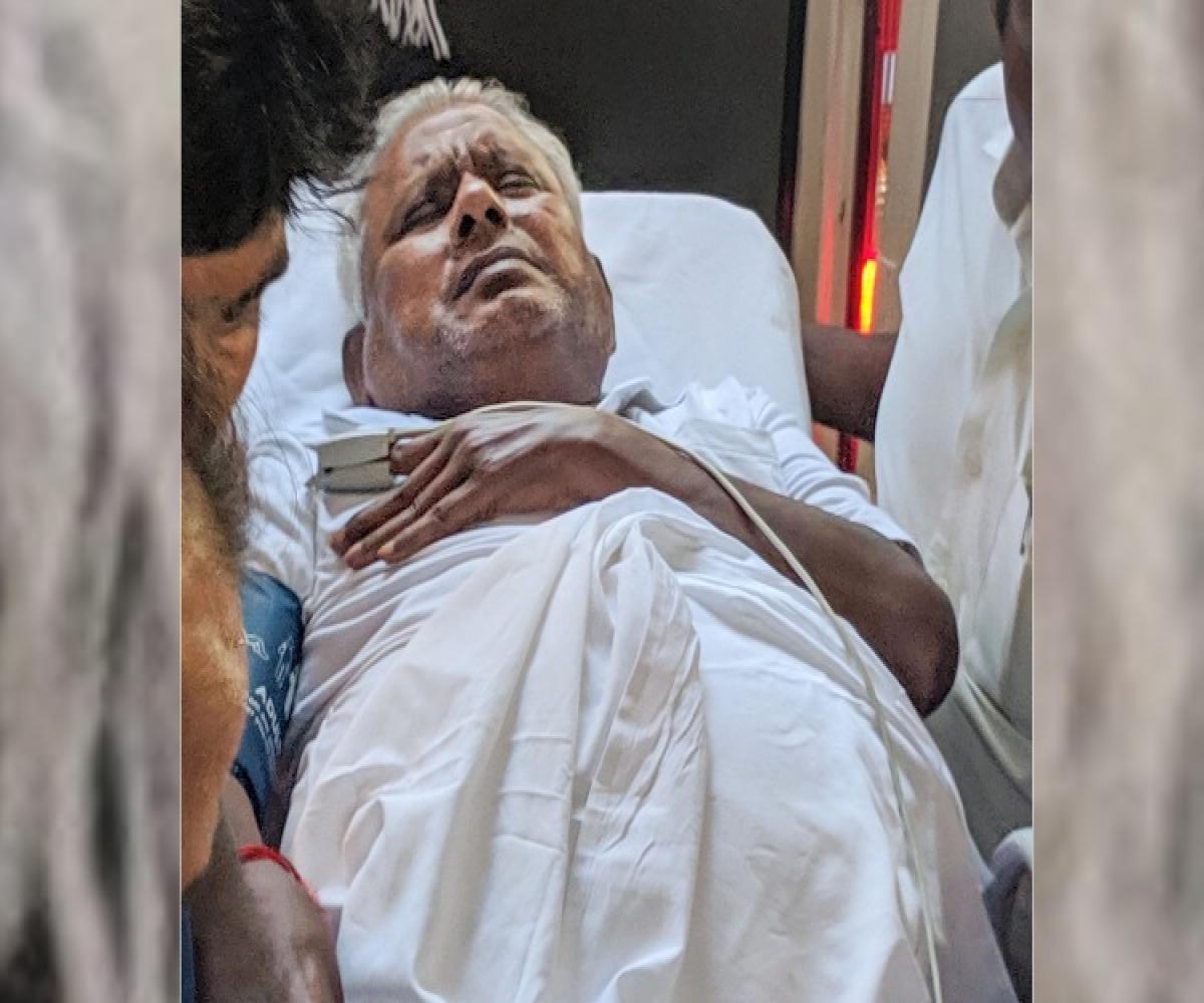 Is Saravana Bhavan Hotel owner suffering from heart ailment?