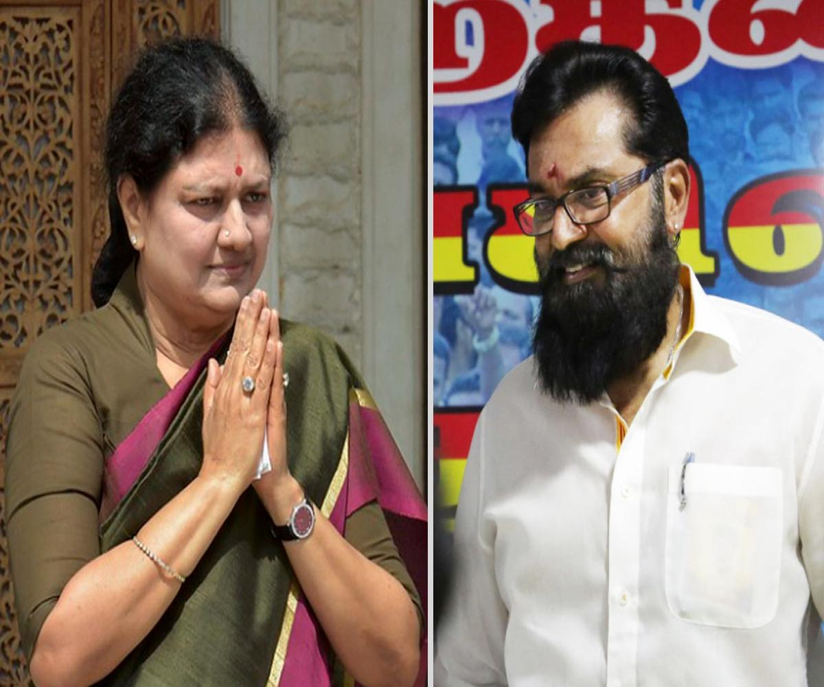Sarathkumar, Raadhika, Seeman and others meet Sasikala in Chennai residence