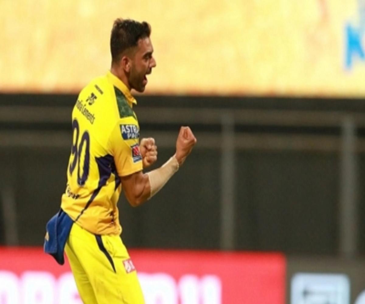 Deepak Chahar's 4-wicket haul helps CSK beat Punjab Kings