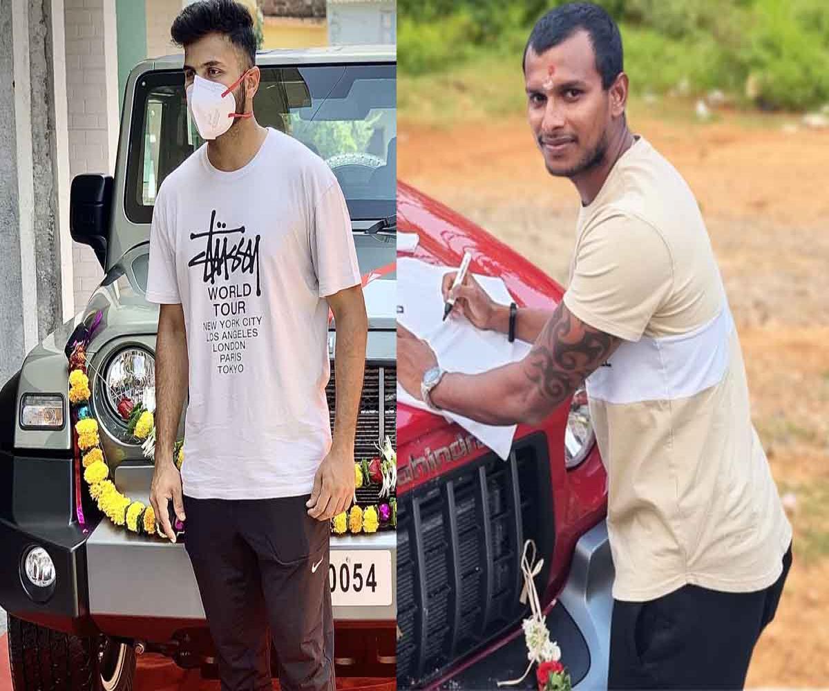 Anand Mahindra gifts Thar SUVs to T Natarajan, Shardul Thakur for Gabba win