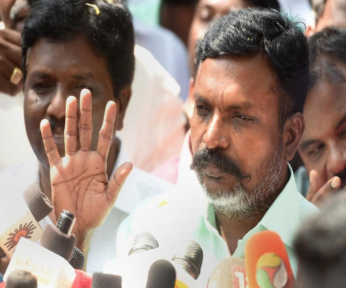 Solidarity pours in for VCK chief Thirumavalavan after Anbumani's video