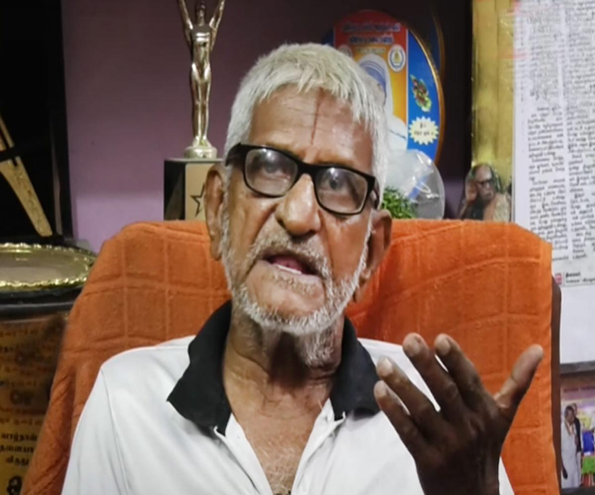 'Traffic' Ramaswamy, the man who fought for people's rights, passes away in Chennai