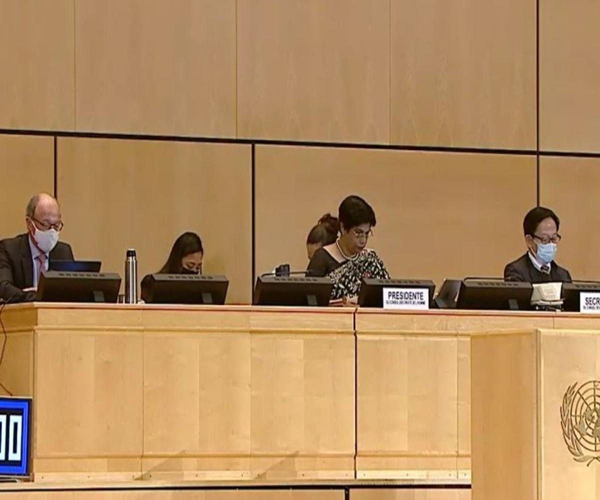 UNHRC votes on resolution against Sri Lanka human rights practices, India abstains