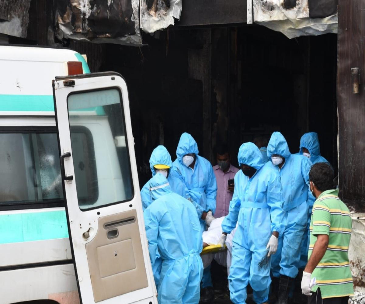 10 patients die in COVID care centre fire: Andhra govt blames ...
