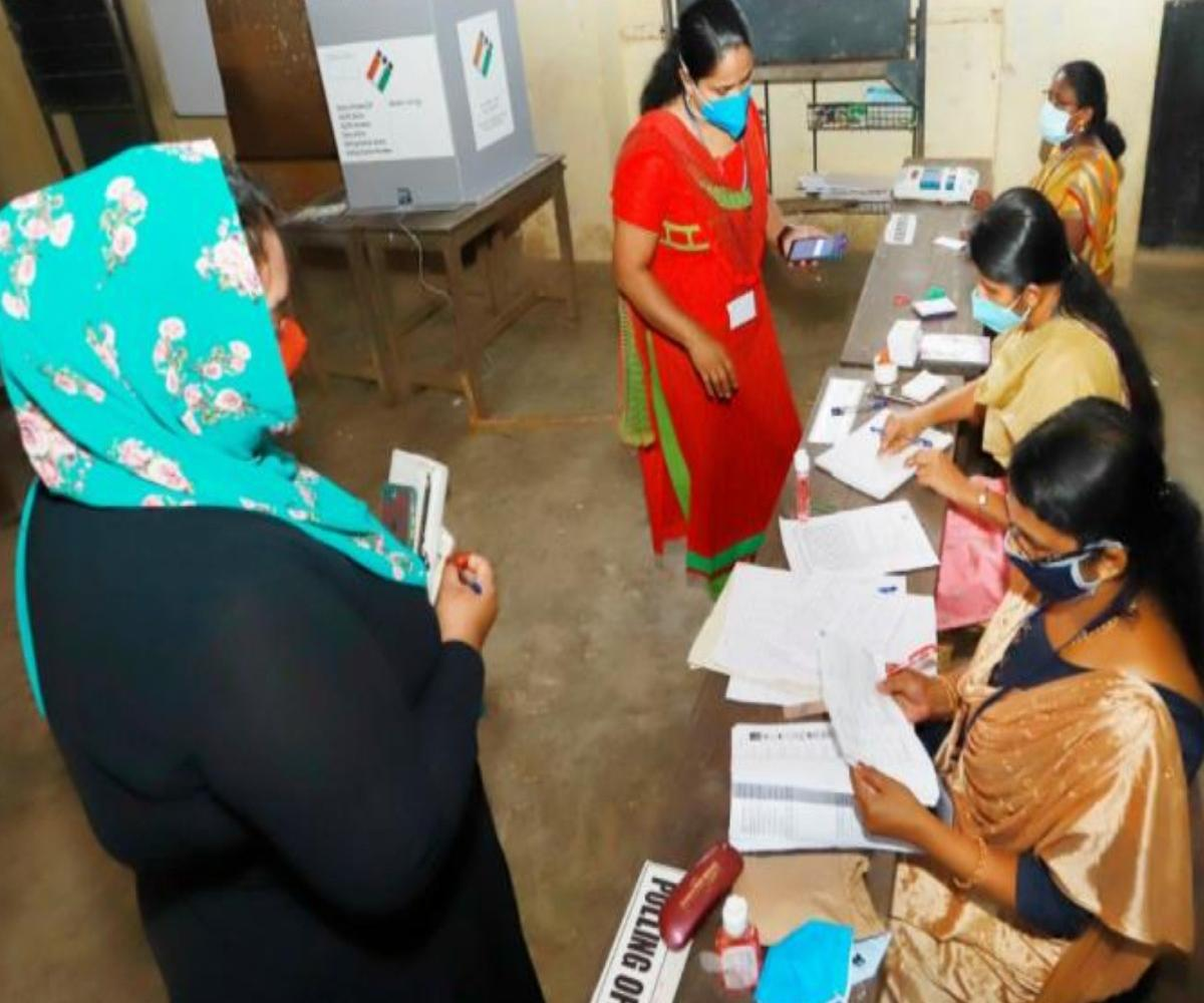 TN Assembly elections: People cast votes in repoll ordered for Velachery booth