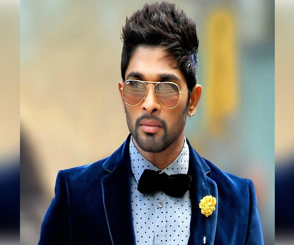 Allu Arjun's new project 'Icon' announced on his birthday