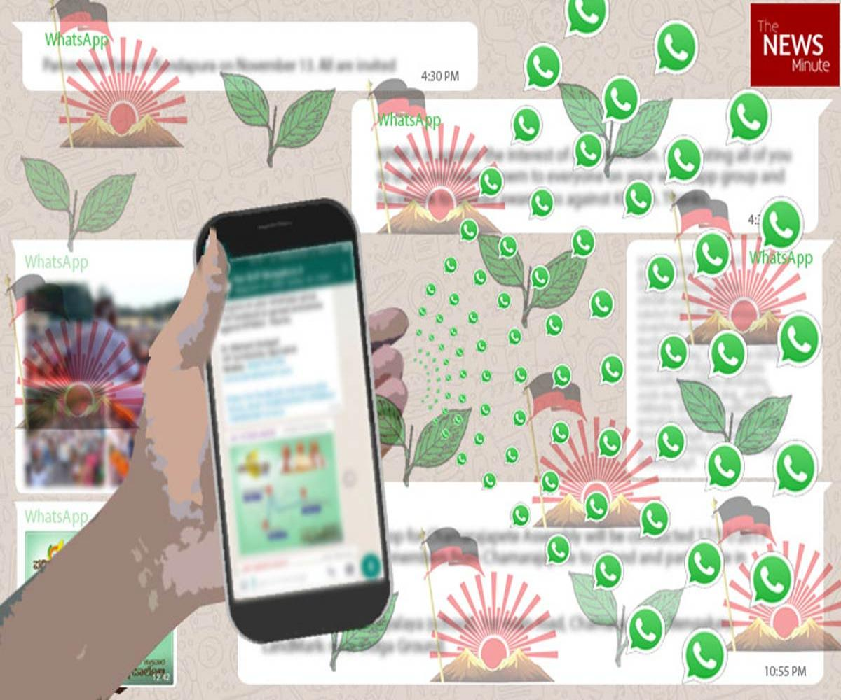 Thousands of groups, targeted messaging: How DMK and AIADMK are using WhatsApp